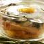Cazuelitas de papas espinacas y huevo